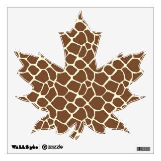 giraffe print wall decals wall stickers zazzle