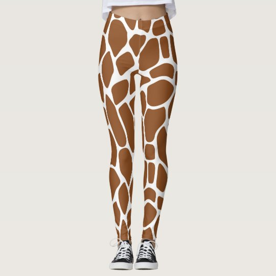 0e8b8f7469222 Giraffe Print Leggings | Zazzle.com
