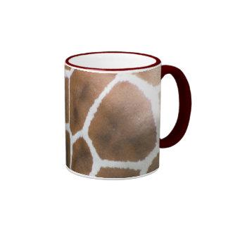 Giraffe Print Mug