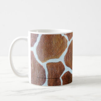 Giraffe Print original painting Coffee Mug