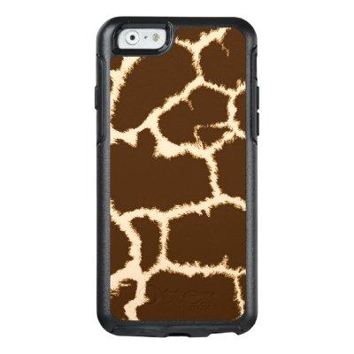 Giraffe Print OtterBox Defender iPhone Case