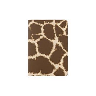 Giraffe Print Passport Holder
