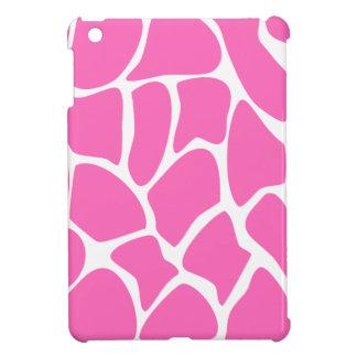 Giraffe Print Pattern in Bright Pink. Case For The iPad Mini