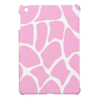 Giraffe Print Pattern in Candy Pink. Cover For The iPad Mini