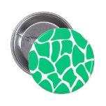 Giraffe Print Pattern in Jade Green. Pin