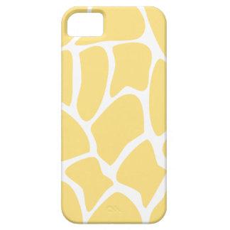 Giraffe Print Pattern in Yellow. iPhone SE/5/5s Case