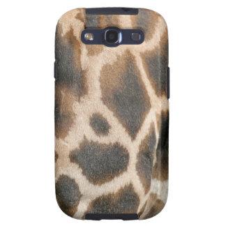 Giraffe Print Pattern Samsung Galaxy Case Galaxy SIII Case