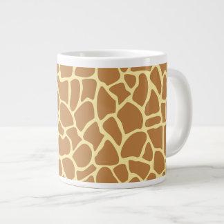 Giraffe Print Pattern. 20 Oz Large Ceramic Coffee Mug