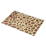 Giraffe Print Place mat Cloth Place Mat