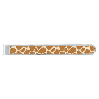 Giraffe Print Tie Bar