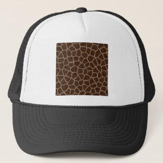 Giraffe Print Trucker Hat