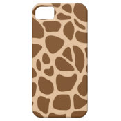 Giraffe Print Wild Animal Patterns Gifts for Her iPhone 5 Covers