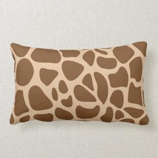 Giraffe Print Wild Animal Patterns Gifts for Her Lumbar Pillow