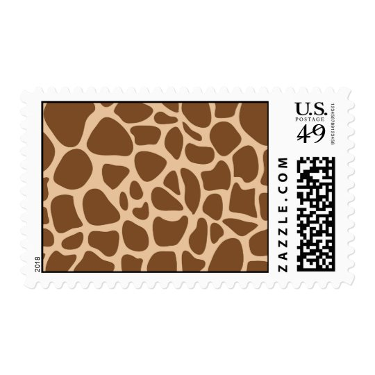 Giraffe Print Wild Animal Patterns Gifts for Her Postage