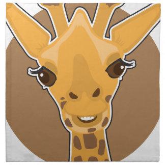 Giraffe Printed Napkins