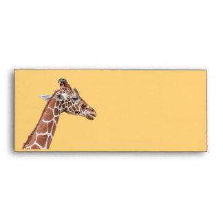 Giraffe profile envelope