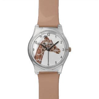 Giraffe profile wrist watches