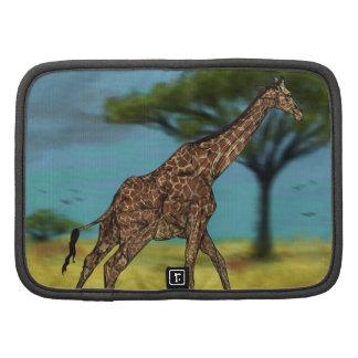 Giraffe Rickshaw Folio Folio Planners