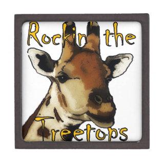 Giraffe_Rockin' the Treetops Keepsake Box