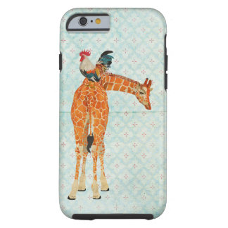 Giraffe & Rooster  iPhone 6 case