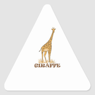 GIRAFFE SAFARI TRIANGLE STICKER