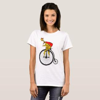 Giraffe Santa Claus Christmas T-Shirt
