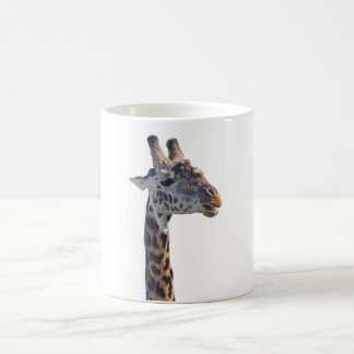 Giraffe Says Hello. Magic Mug