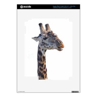 Giraffe Says Hello Tom Wurl Decals For iPad 3