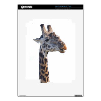 Giraffe Says Hello Tom Wurl Skins For iPad 2