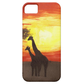 Giraffe Silhouette iPhone 5 Cover