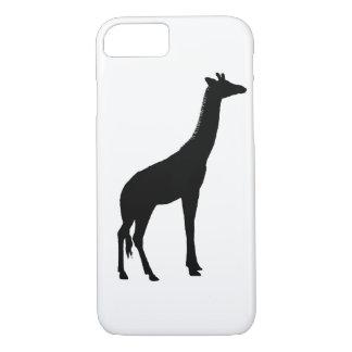 Giraffe Silhouette iPhone 7 Case