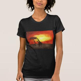 Giraffe Silhouette T-shirt
