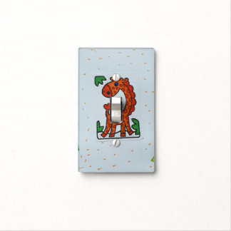 GIRAFFE SINGLE TOGGLE LIGHT SWITCH SWITCH PLATE COVER