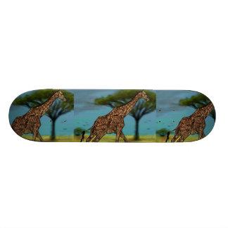 Giraffe Skateboard