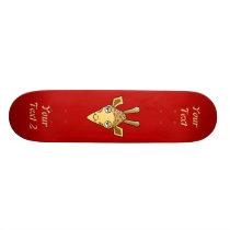 Giraffe Skateboard Deck