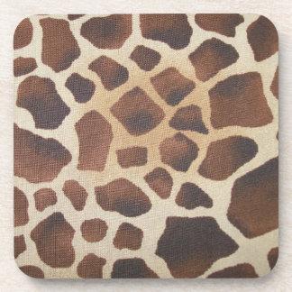 Giraffe Skin Animal Print Cork Co Coaster