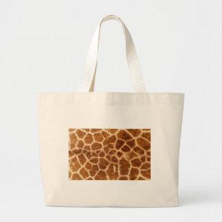 Giraffe Skin Canvas Bags