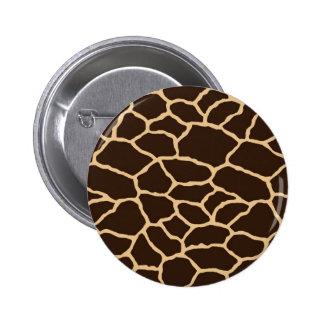 Giraffe skin Button