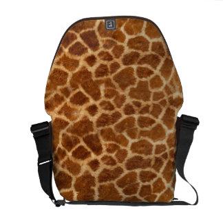 Giraffe Skin Courier Bag