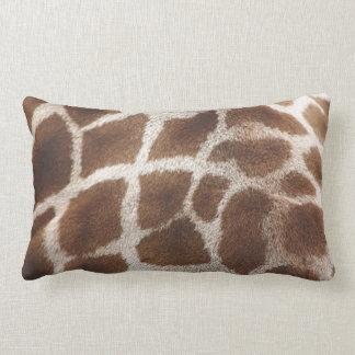 Giraffe Skin Lumbar Pillow