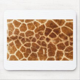 Giraffe Skin Mouse Pad