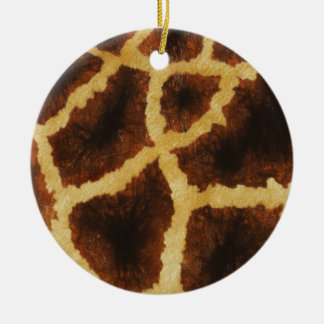 Giraffe Skin Ornament