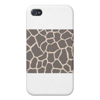 Giraffe Skin Pattern iPhone 4/4S Cover