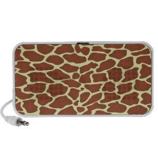 Giraffe Skin Pattern Mp3 Speaker