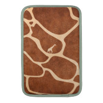 Giraffe Skin Pattern Surface Stains Lines MacBook Air Sleeve