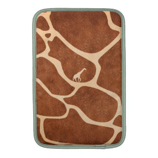 Giraffe Skin Pattern Surface Stains Lines MacBook Air Sleeve