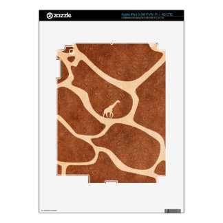 Giraffe Skin Pattern Surface Stains Lines Skins For iPad 3