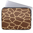 Giraffe Skin Print Pattern Laptop Sleeve