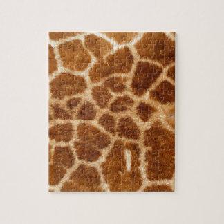 Giraffe Skin Jigsaw Puzzles