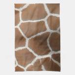 GIRAFFE SKIN TOWELS